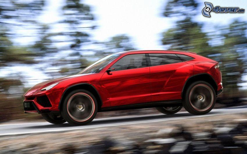 Lamborghini Urus, speed