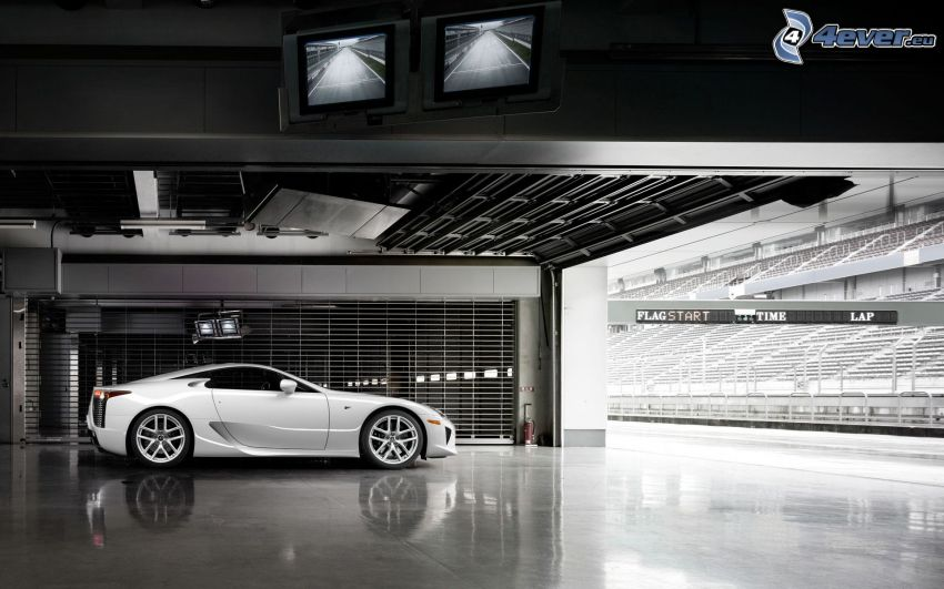 Lexus LFA, hall