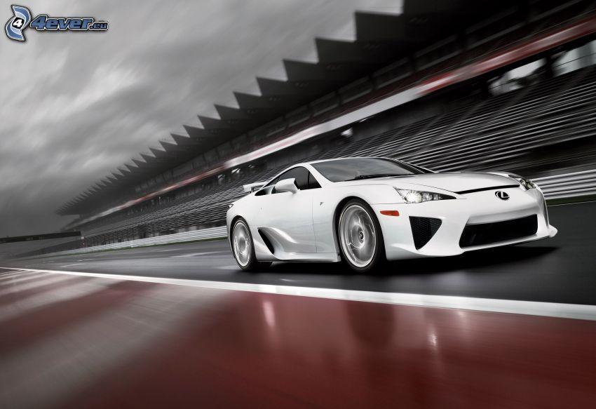 Lexus LFA, racing circuit