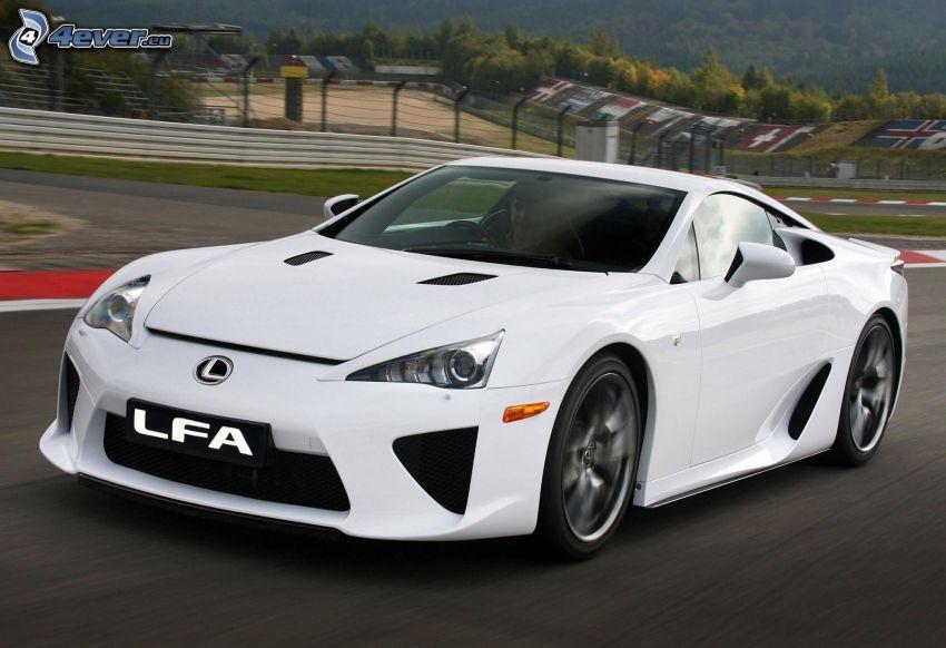 Lexus LFA, speed, racing circuit