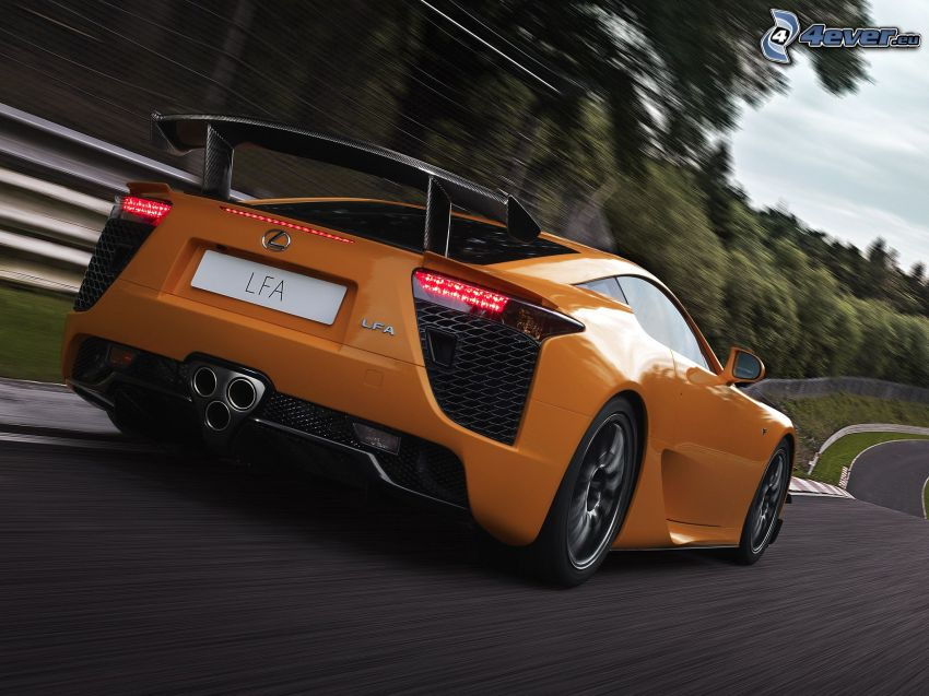 Lexus LFA, speed