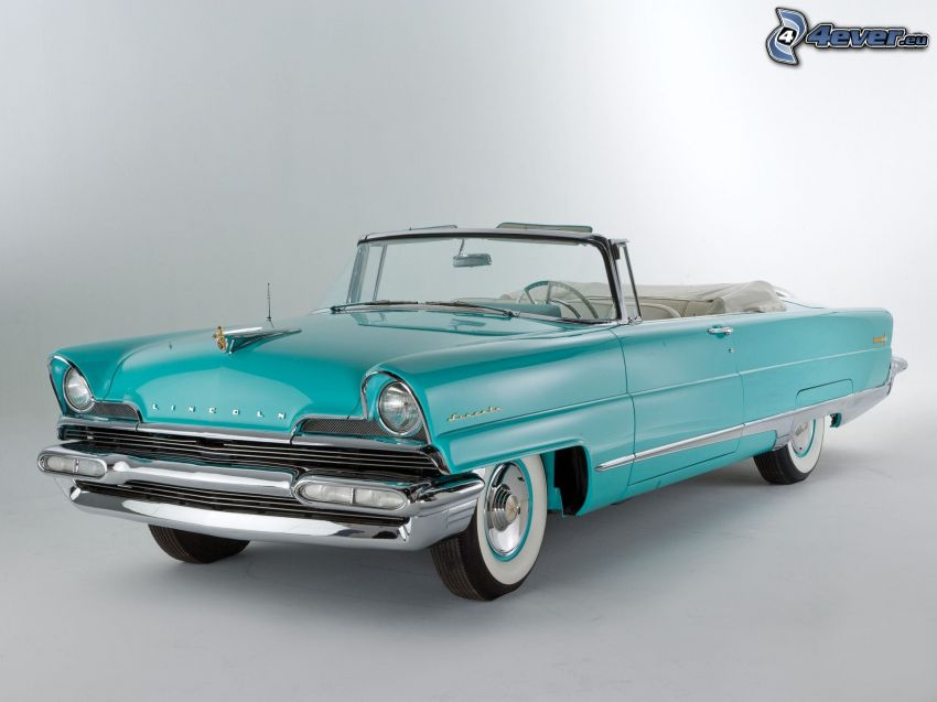 Lincoln, convertible, oldtimer