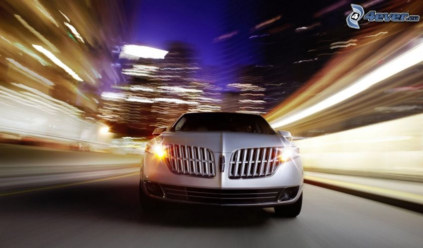 Lincoln MKT, lights, speed