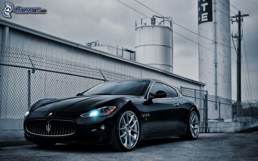 Maserati Coupe, factory
