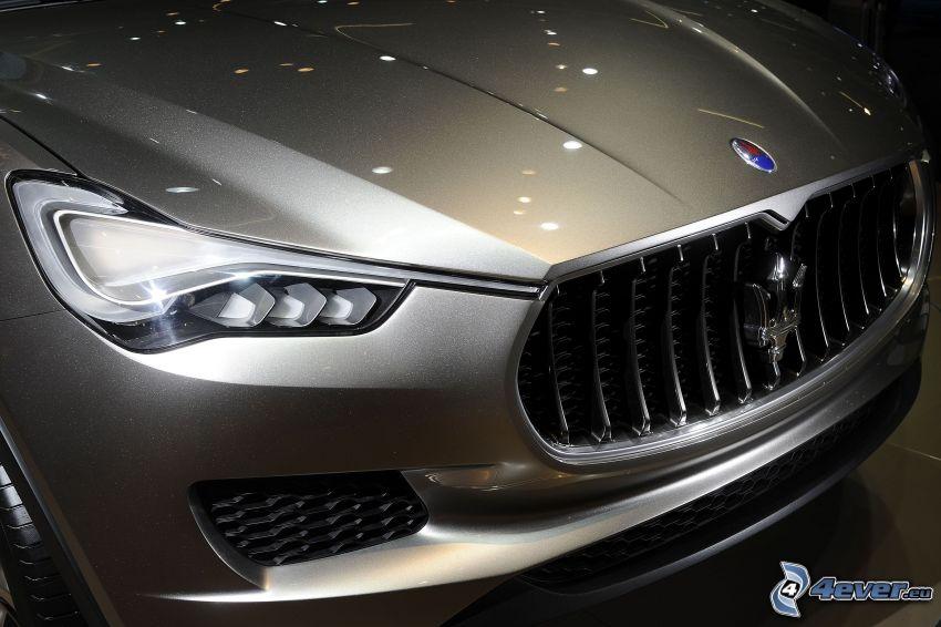 Maserati Kubang, car hood