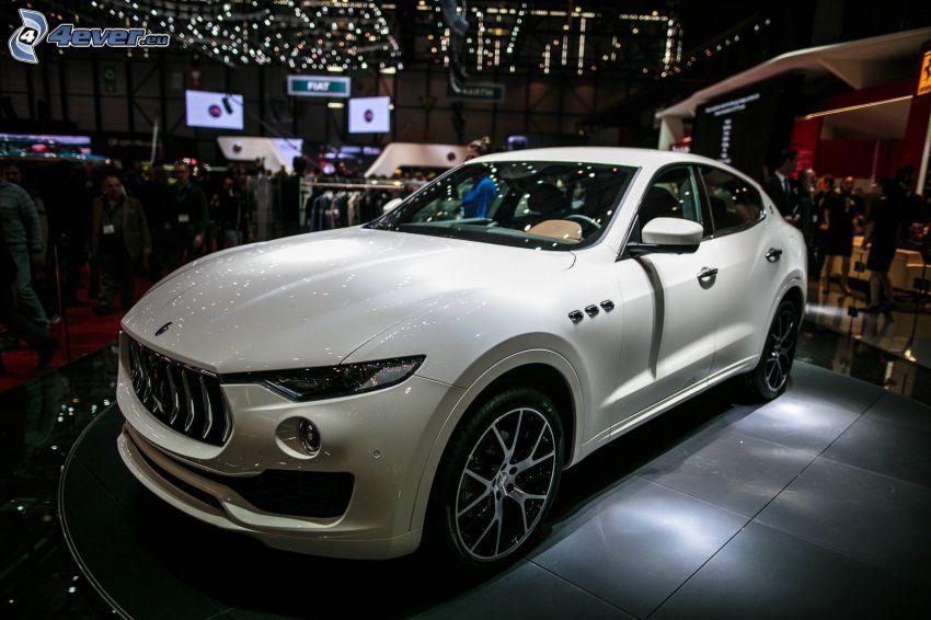 Maserati Levante, exhibition, auto show