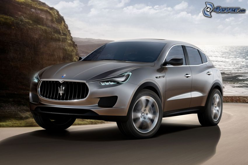 Maserati Levante, open sea