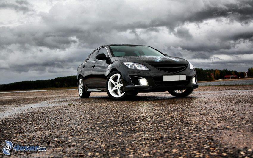 Mazda 6, dark clouds
