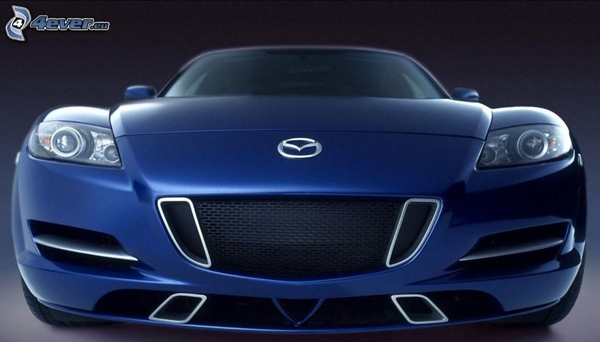 Mazda RX8, front grille