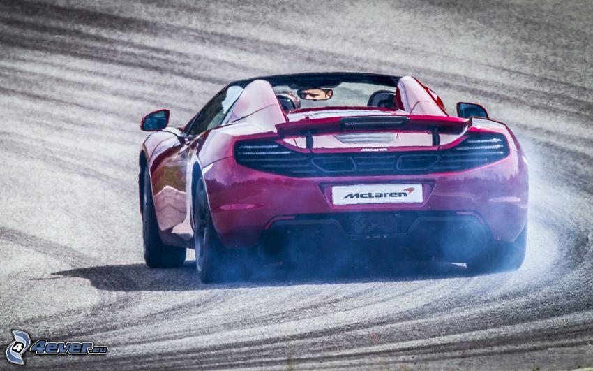 McLaren MP4-12C, drifting