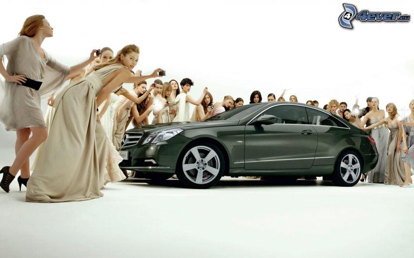 Mercedes-Benz, women