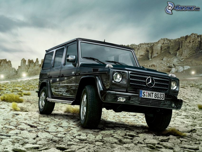 Mercedes-Benz G, rocks