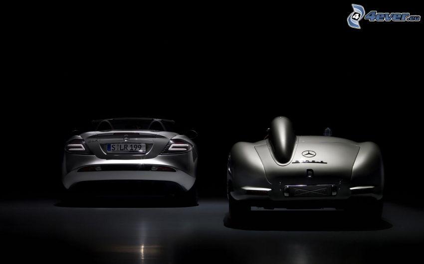 Mercedes-Benz SLR McLaren, convertible, oldtimer