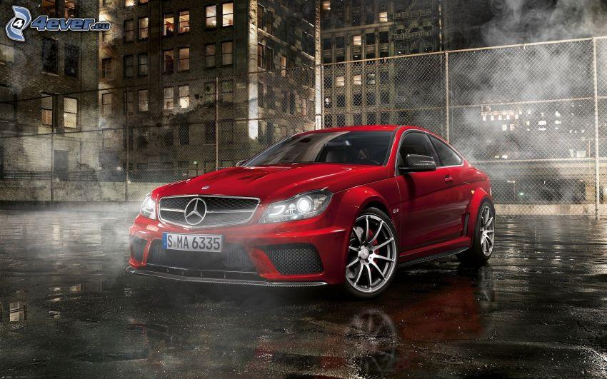 Mercedes-Benz SLS AMG, steam