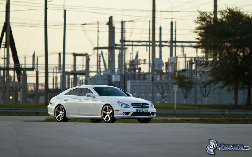 Mercedes CLS 63 AMG, factory