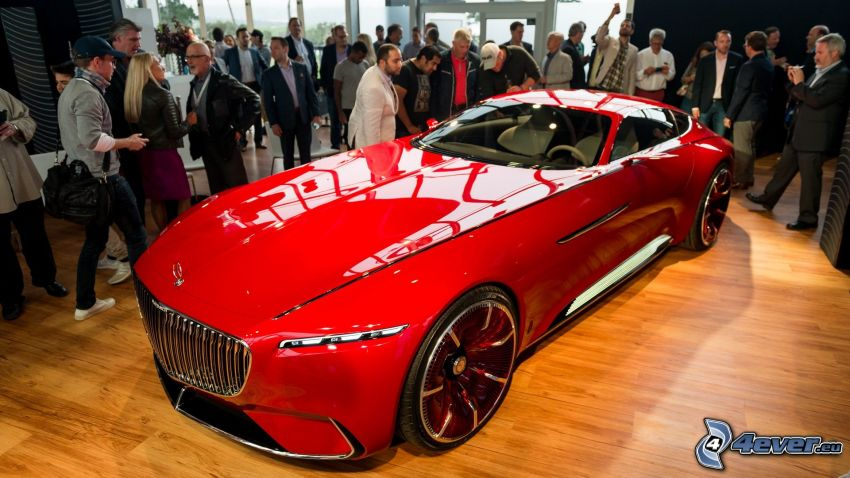 Mercedes-Maybach 6, exhibition, auto show