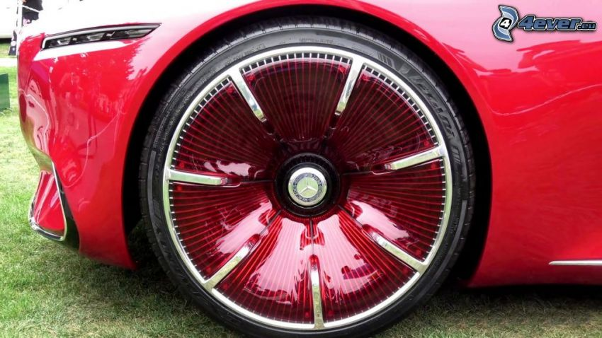 Mercedes-Maybach 6, wheel