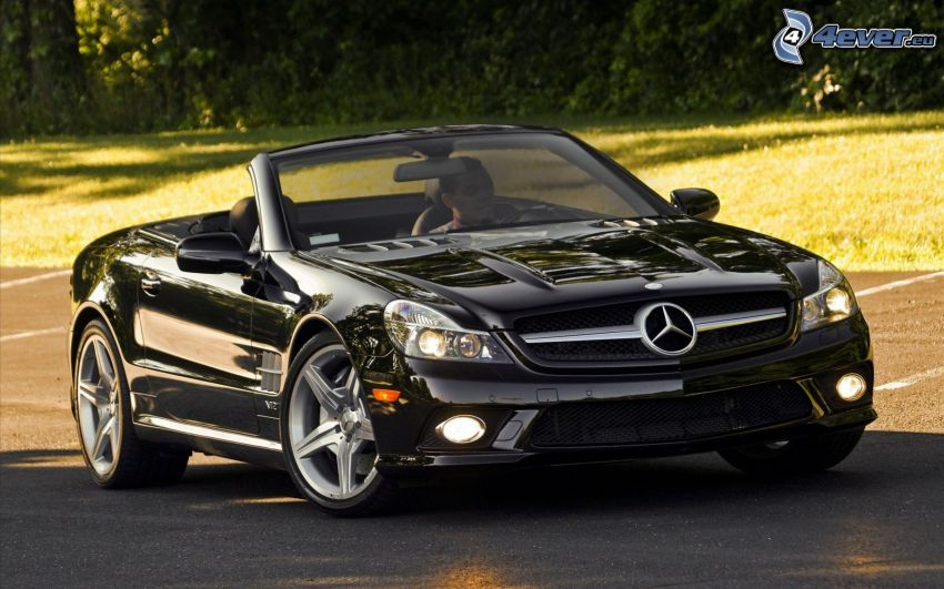 Mercedes SL600, convertible