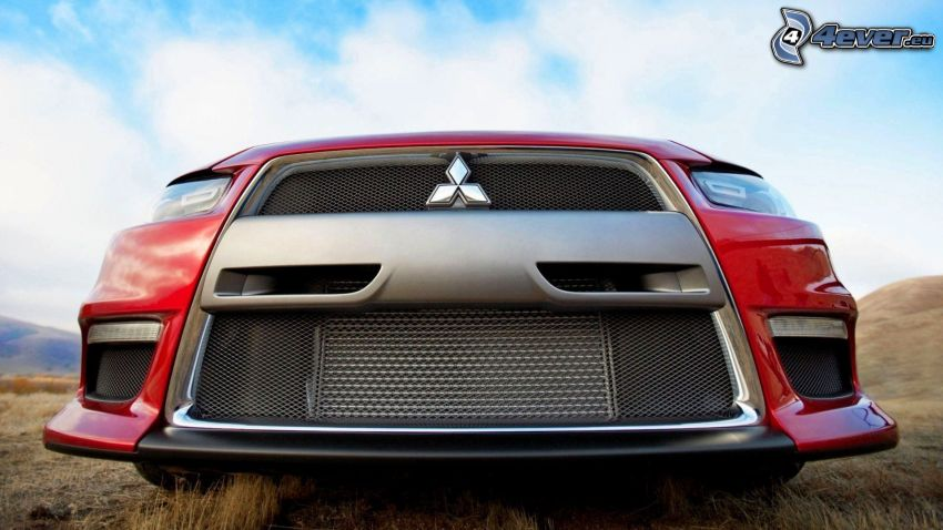 Mitsubishi, front grille