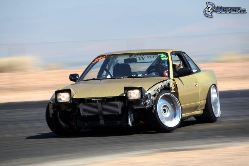 Nissan 240SX, drifting