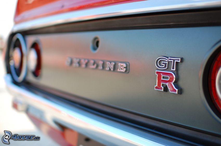 Nissan Skyline GT-R, macro