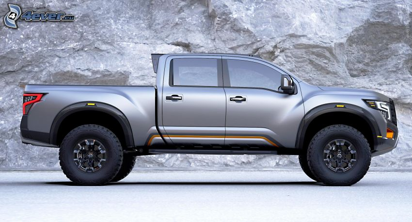 Nissan Titan, rock