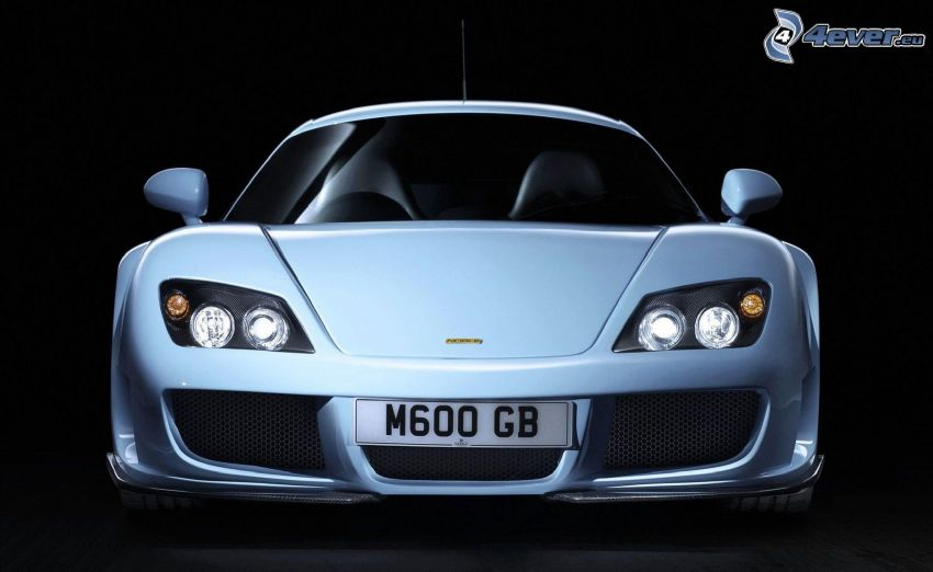Noble M600, front grille