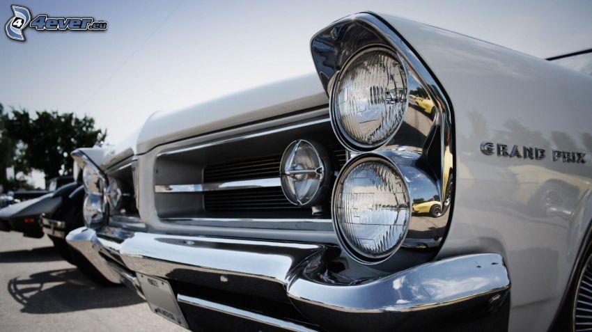 oldtimer, front grille, reflector