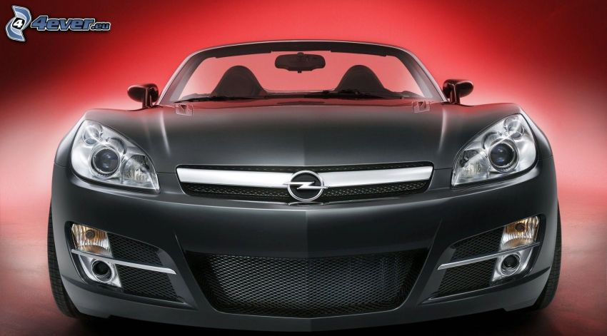 Opel GT, front grille