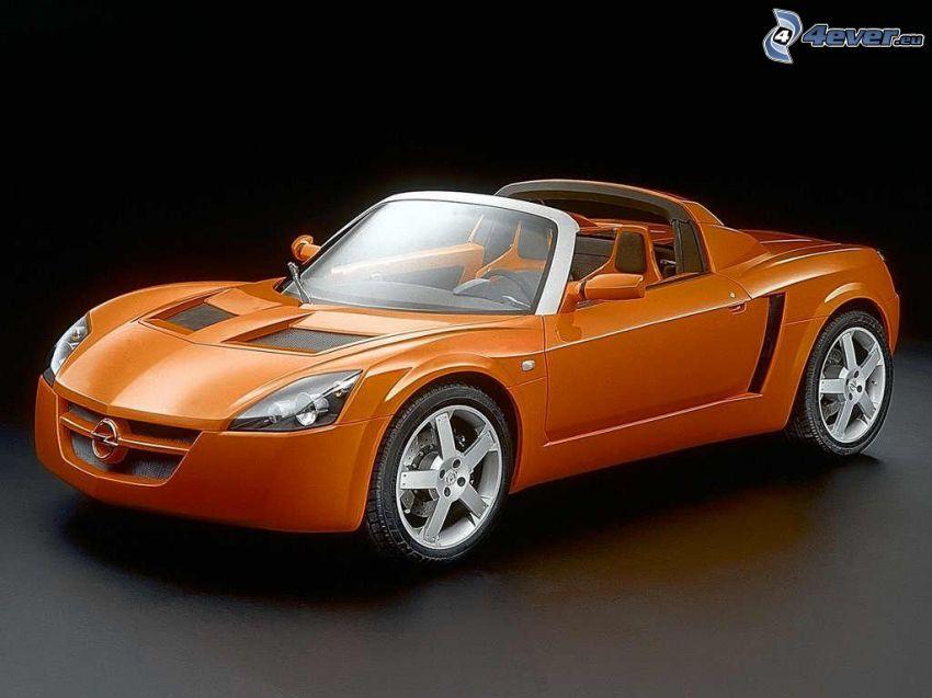 Opel Speedster, convertible