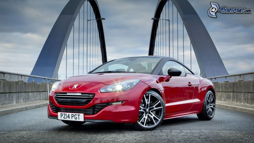 Peugeot RCZ, bridge