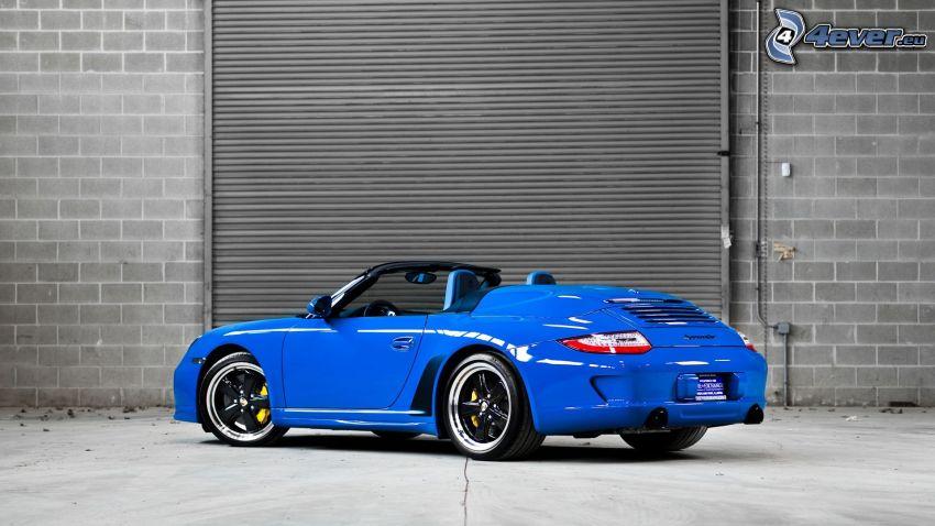 Porsche 911, wall