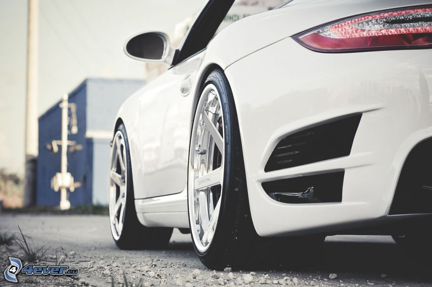 Porsche 911, wheels