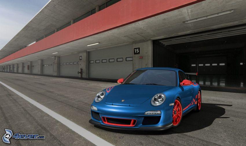 Porsche 911 GT3 RS, garage