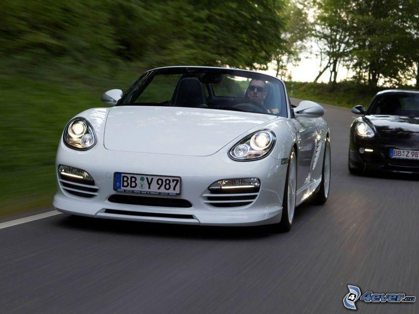 Porsche Boxster, convertible, speed