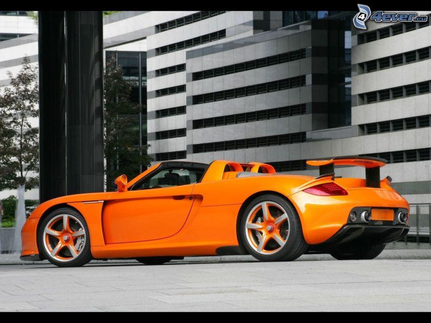 Porsche Carrera GT, convertible