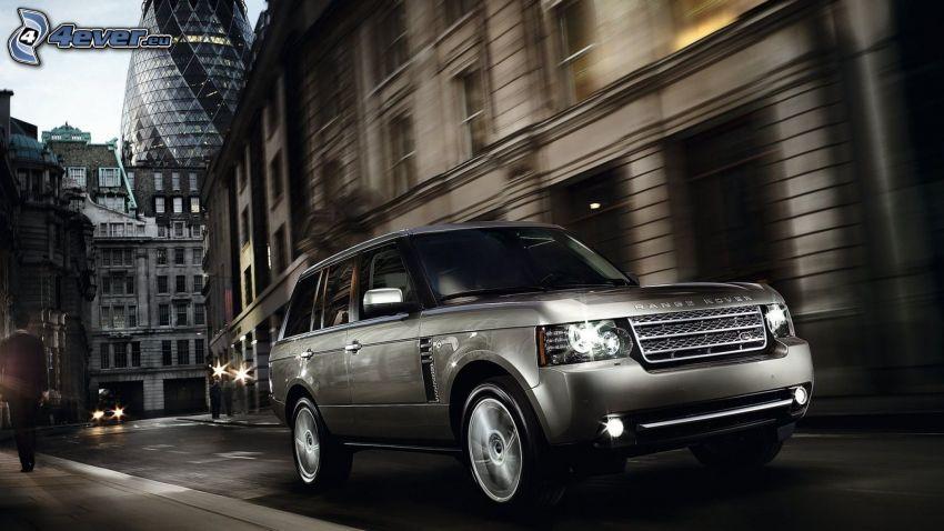Range Rover, street, London