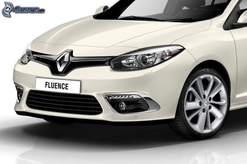 Renault Fluence, front grille