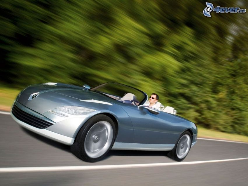 Renault Nepta, convertible, speed