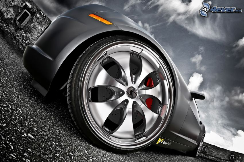 rim, wheel, Chevrolet Camaro