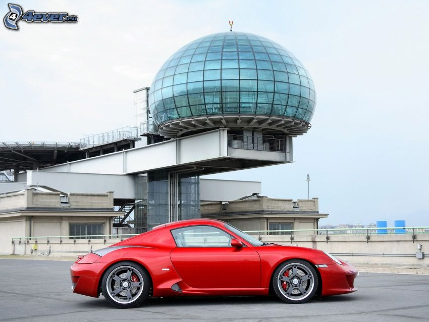 Ruf RK Coupe, building