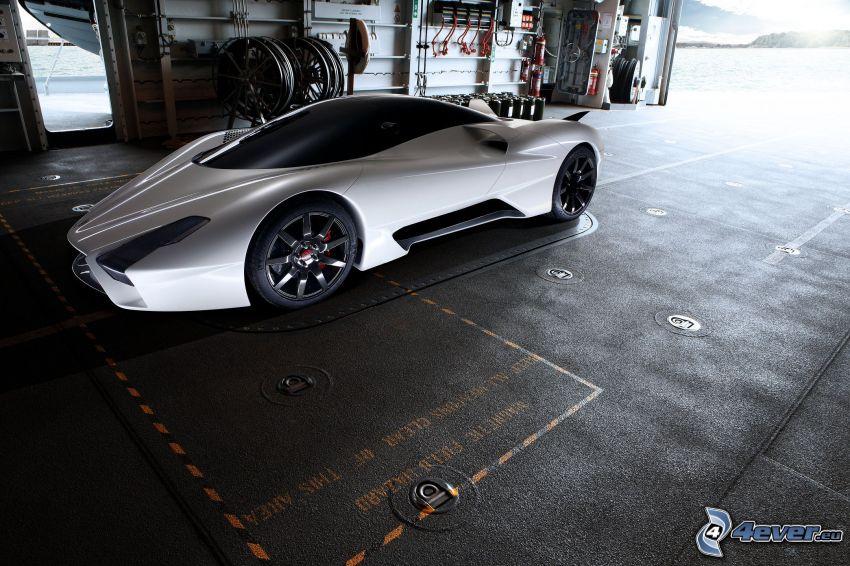 SSC Tuatara, garage