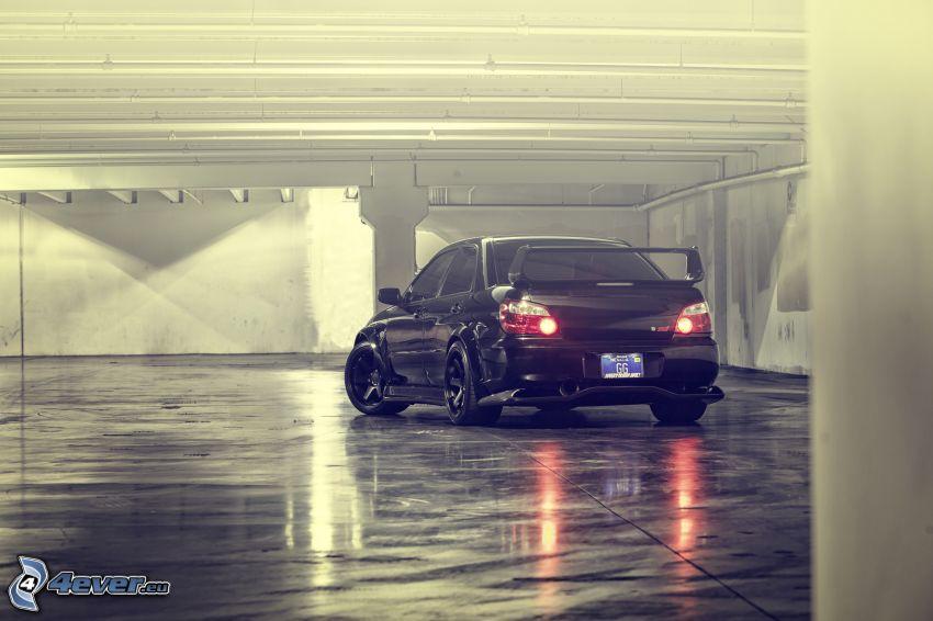 Subaru Impreza WRX STi, garage