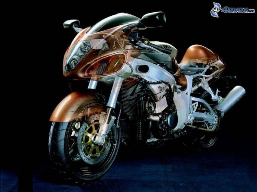 Suzuki Hayabusa, motocycle, concept