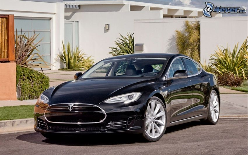 Tesla Model S, electric car