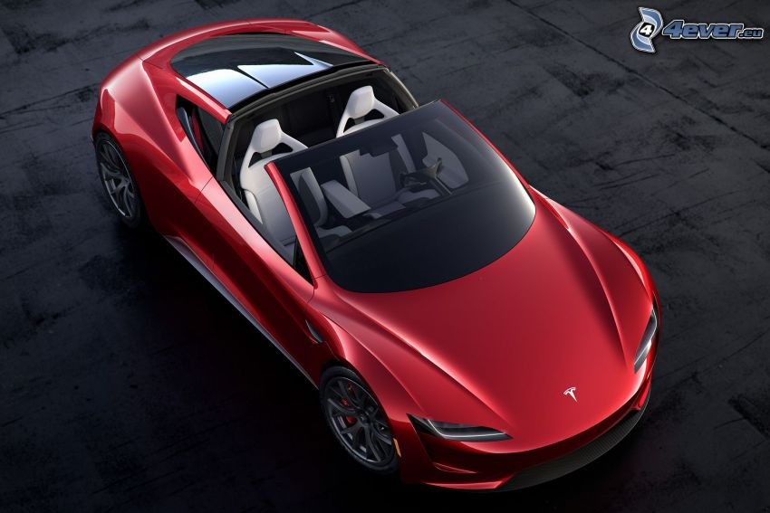 Tesla Roadster 2, convertible