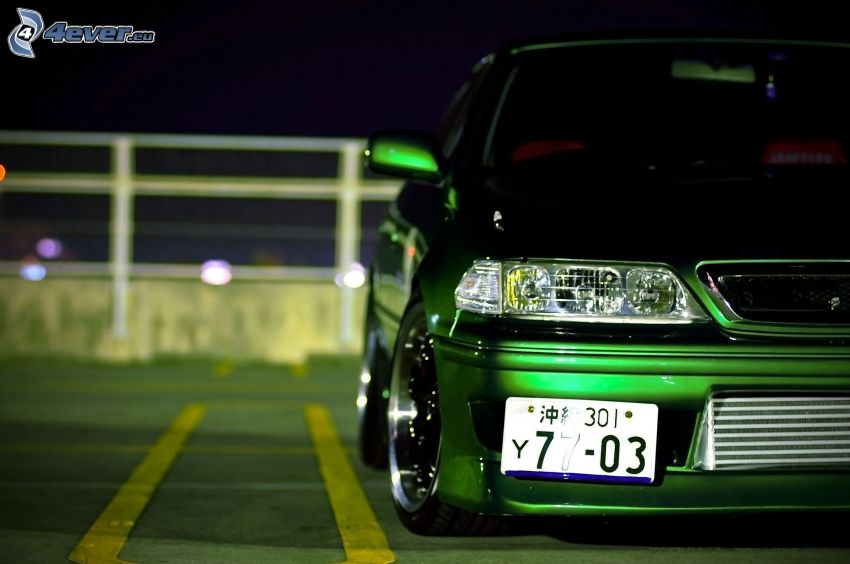Toyota, car park