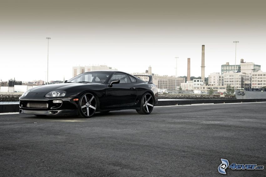 Toyota Supra, city