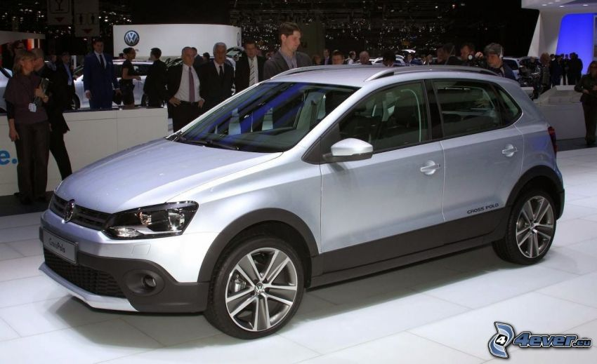 Volkswagen Cross Polo, exhibition, auto show