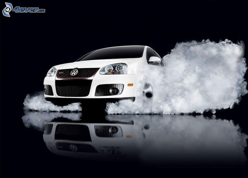 Volkswagen Golf GTI W12, smoke